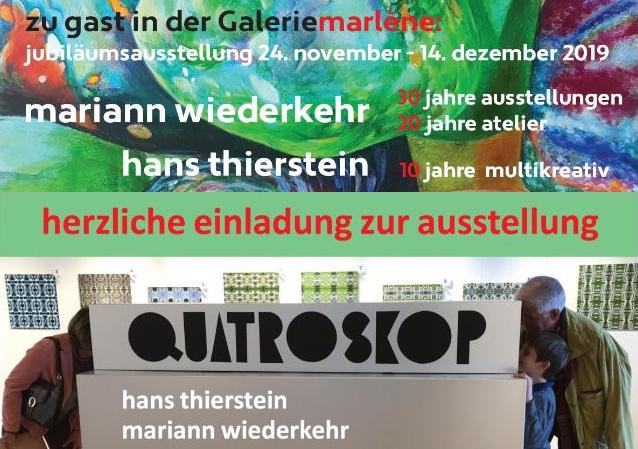 Ausstellung Galeriemarlène 2019